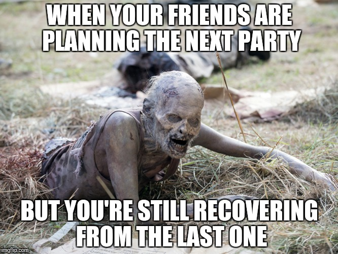 Funny Zombie Memes : You know you are gettng old whenu2026 imgflip