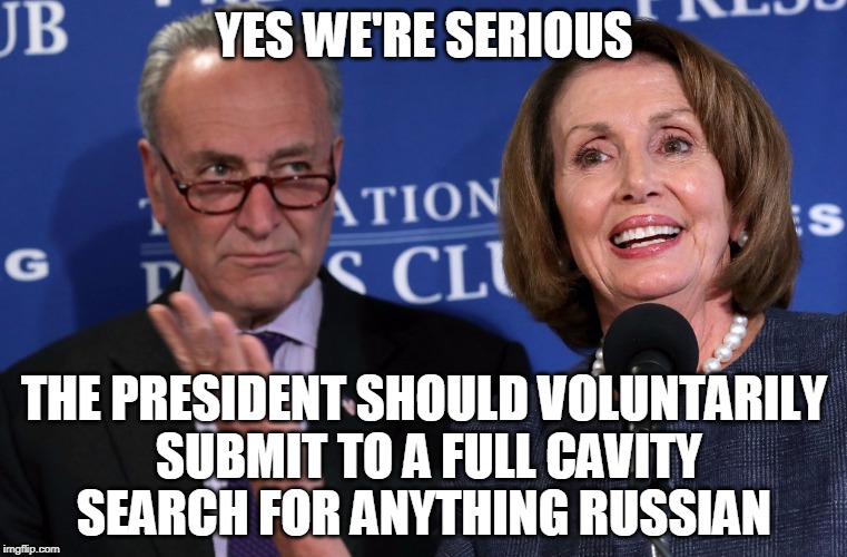 "14 months and no hint of ""collusion."" Let. It. Go. 