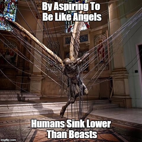 """By Aspiring To Be Like Angels..."" 