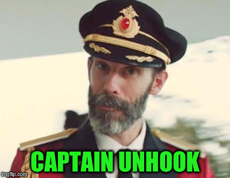 CAPTAIN UNHOOK | made w/ Imgflip meme maker