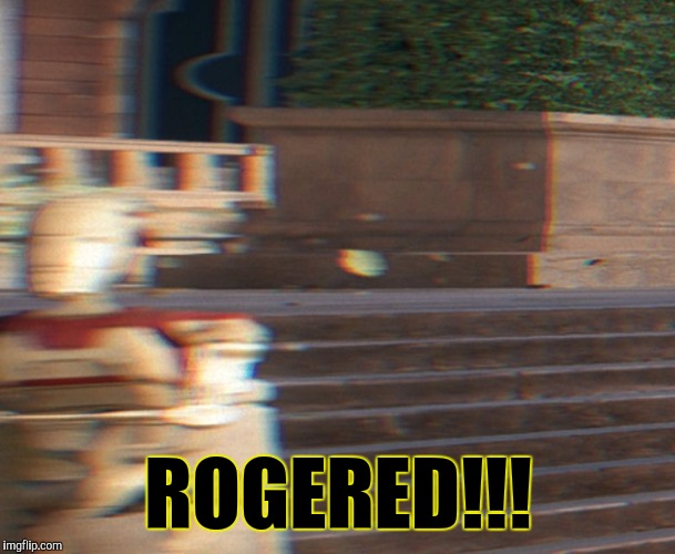 Triggered Battle Droid | ROGERED!!! | image tagged in triggered battle droid,star wars,star wars battlefront,triggered,memes | made w/ Imgflip meme maker