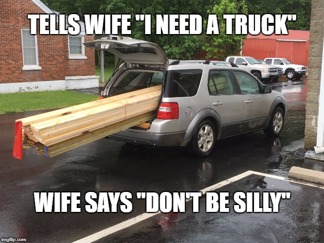 "Silly Truck | TELLS WIFE ""I NEED A TRUCK"" WIFE SAYS ""DON'T BE SILLY"" 