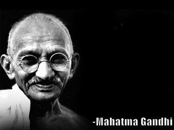 High Quality Mahatma Gandhi Rocks Blank Meme Template