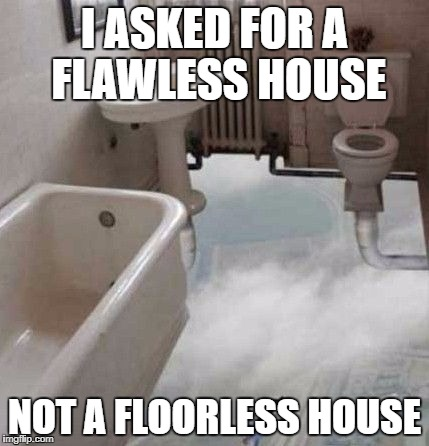 I got a perfect house, no floors | I ASKED FOR A FLAWLESS HOUSE NOT A FLOORLESS HOUSE | image tagged in memes,flawless,dank memes,funny,bad puns,meanwhile in australia | made w/ Imgflip meme maker