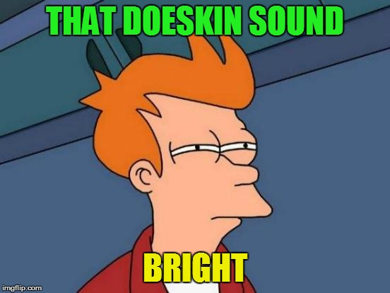 Futurama Fry Meme | THAT DOESKIN SOUND BRIGHT | image tagged in memes,futurama fry | made w/ Imgflip meme maker