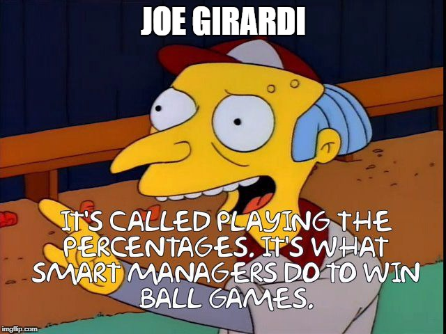 Joe Girardi | JOE GIRARDI | image tagged in yankees | made w/ Imgflip meme maker