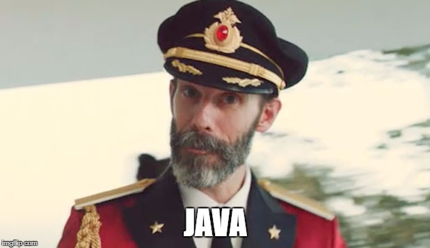 JAVA | made w/ Imgflip meme maker