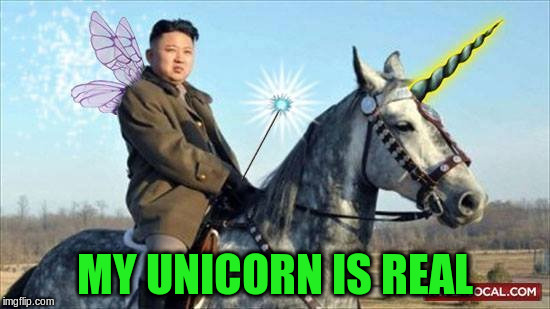 MY UNICORN IS REAL | made w/ Imgflip meme maker