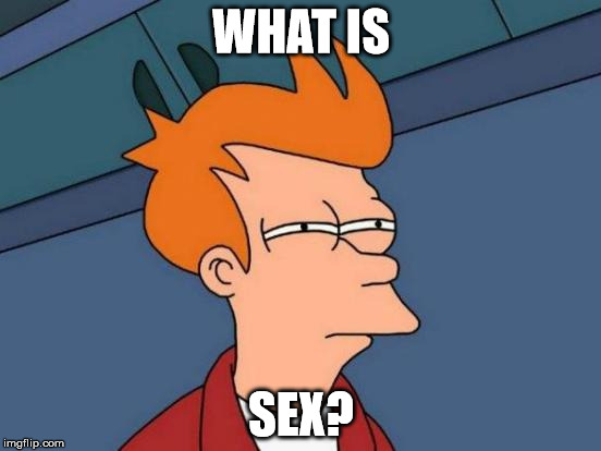 Futurama Fry Meme | WHAT IS SEX? | image tagged in memes,futurama fry | made w/ Imgflip meme maker