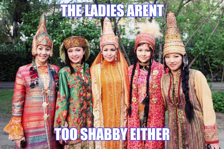 THE LADIES ARENT TOO SHABBY EITHER | made w/ Imgflip meme maker
