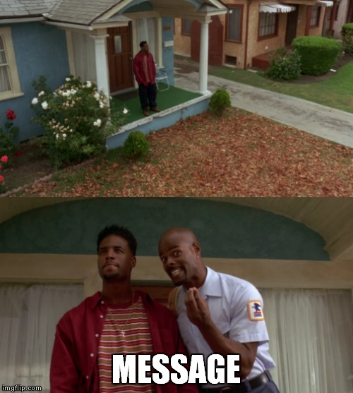 Lazy sunday comment...  Have you seen this movie? | MESSAGE | image tagged in don't be a menace,lazy sunday,comments | made w/ Imgflip meme maker