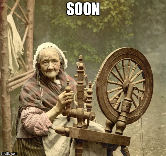 spinning | SOON | image tagged in spinning | made w/ Imgflip meme maker