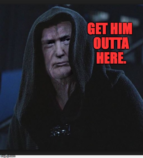 GET HIM OUTTA HERE. | made w/ Imgflip meme maker