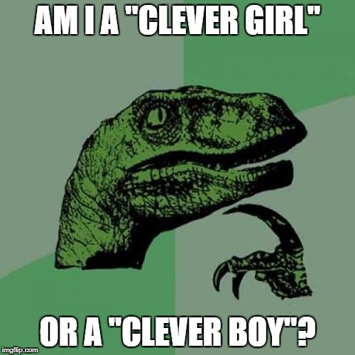 "Clever Girl or Clever Boy | AM I A ""CLEVER GIRL"" OR A ""CLEVER BOY""? 