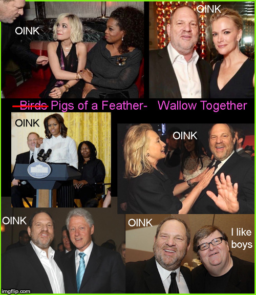Hollywood- oink---oink | image tagged in hollywood,current events,harvey weinstein,funny memes,politics lol | made w/ Imgflip meme maker