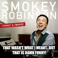 Smokey | THAT WASN'T WHAT I MEANT...BUT THAT IS DAMN FUNNY! | image tagged in smokey | made w/ Imgflip meme maker