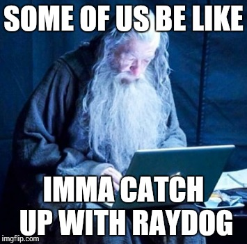 You shall not pass Raydog | SOME OF US BE LIKE IMMA CATCH UP WITH RAYDOG | image tagged in raydog,gandalf you shall not pass,meme,imgflip users | made w/ Imgflip meme maker