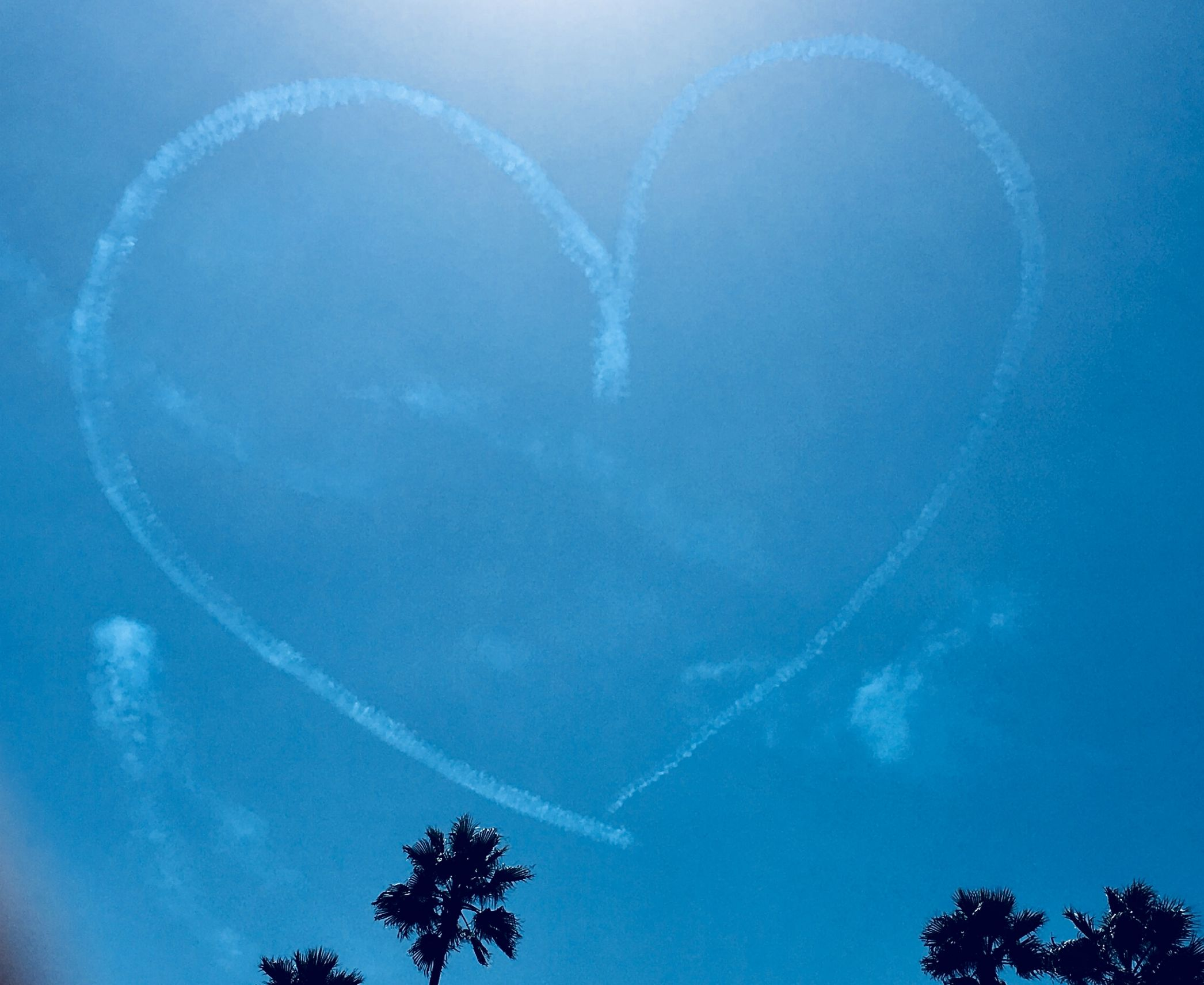 Sky Writing Heart Meme Generator Imgflip