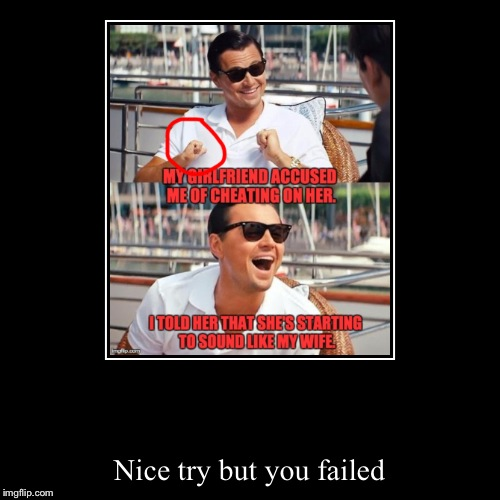 Nice try but you failed | image tagged in funny,demotivationals,fail,funny picture | made w/ Imgflip demotivational maker