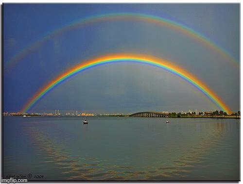 Double Rainbow | image tagged in double rainbow | made w/ Imgflip meme maker