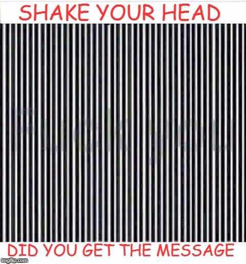 read between the lines  | SHAKE YOUR HEAD DID YOU GET THE MESSAGE | image tagged in black and white week,memes,funny,oh wow are you actually reading these tags,thankyou | made w/ Imgflip meme maker