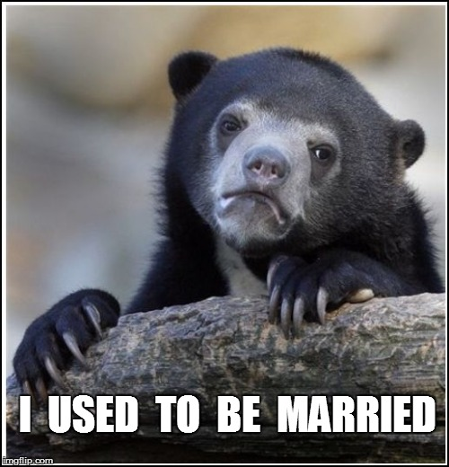 I  USED  TO  BE  MARRIED | made w/ Imgflip meme maker
