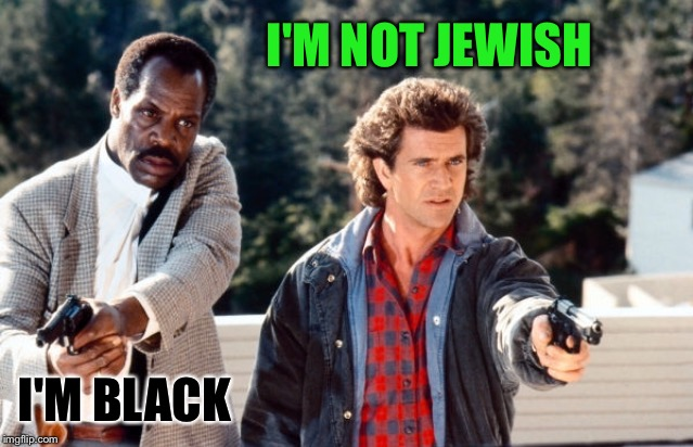 I'M BLACK I'M NOT JEWISH | made w/ Imgflip meme maker