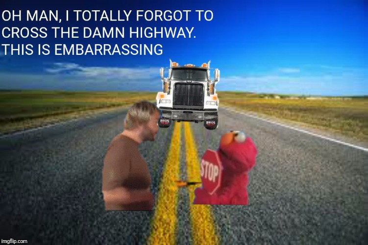 image tagged in why did jack cross the highway | made w/ Imgflip meme maker