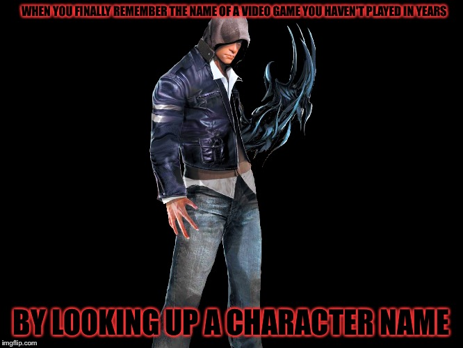 "All I did was look up the name ""Alex Mercer"" and remembered ""Oh yeah this guy Is from Prototype!"" 