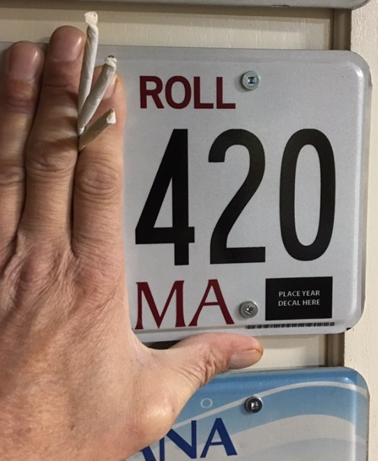 High Quality 420 License Plate Blank Meme Template
