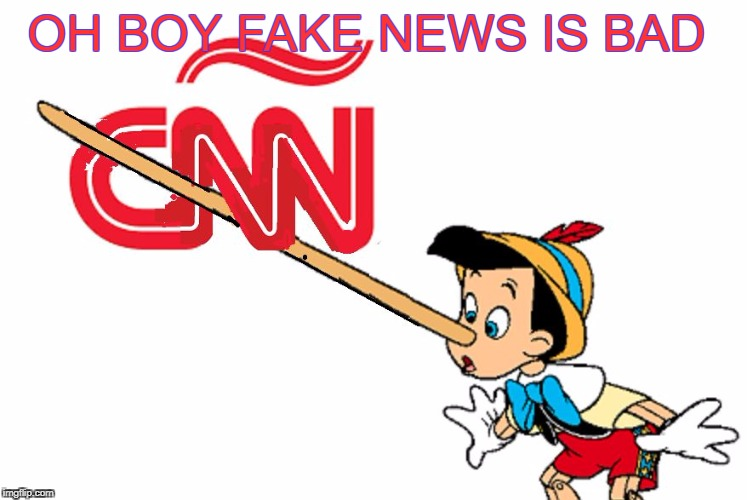 OH BOY FAKE NEWS IS BAD | made w/ Imgflip meme maker