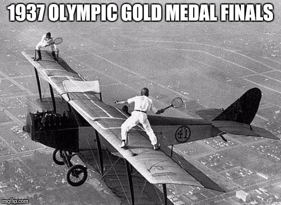 Time were tough back then. B&W week (A DashHopes and Pipe_Picasso event) | 1937 OLYMPIC GOLD MEDAL FINALS | image tagged in bw week,black  white week | made w/ Imgflip meme maker