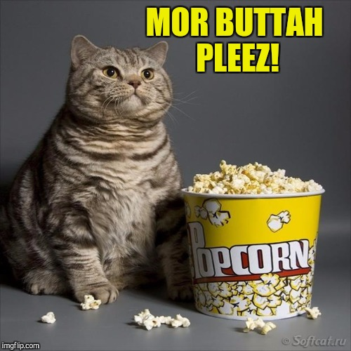 MOR BUTTAH PLEEZ! | made w/ Imgflip meme maker
