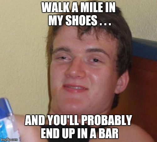 """Have a drink on me"" - AC/DC 