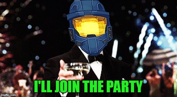 Cheers Ghost | I'LL JOIN THE PARTY | image tagged in cheers ghost | made w/ Imgflip meme maker