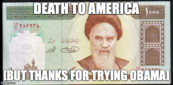 Death to America | DEATH TO AMERICA [BUT THANKS FOR TRYING OBAMA] | image tagged in barack obama | made w/ Imgflip meme maker