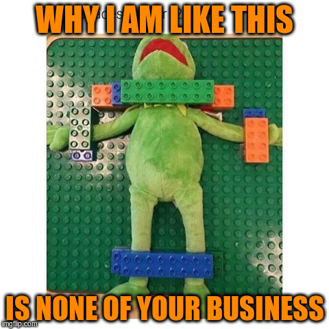 WHY I AM LIKE THIS IS NONE OF YOUR BUSINESS | made w/ Imgflip meme maker