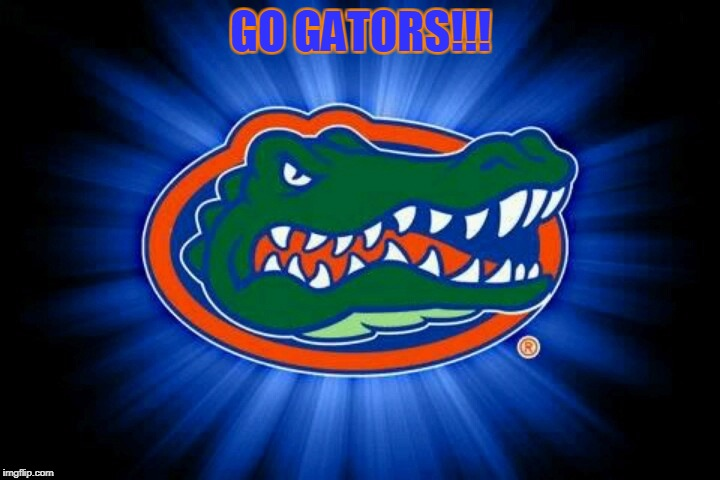 Florida Gators Logo | GO GATORS!!! | image tagged in florida gators logo | made w/ Imgflip meme maker