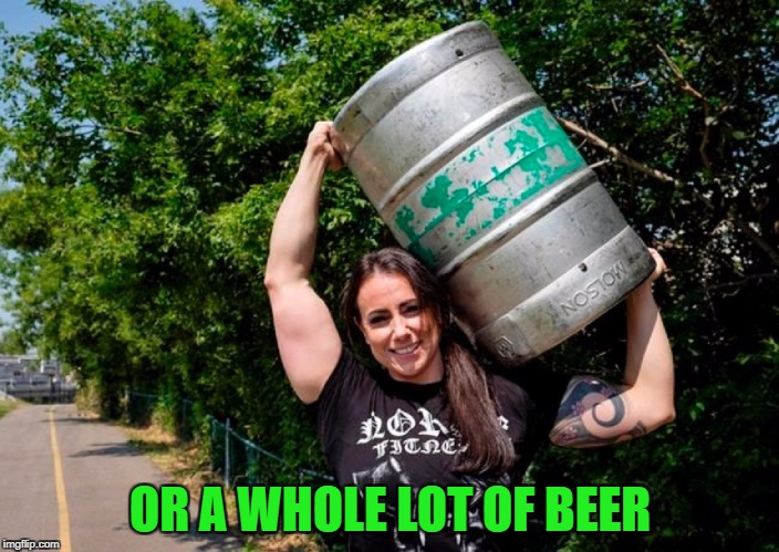 OR A WHOLE LOT OF BEER | made w/ Imgflip meme maker
