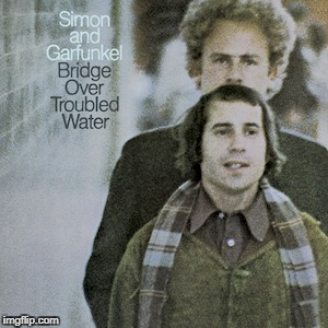 Well, look at that *MOUSTACHE* | image tagged in music joke,funny,music,simon and garfunkel | made w/ Imgflip meme maker