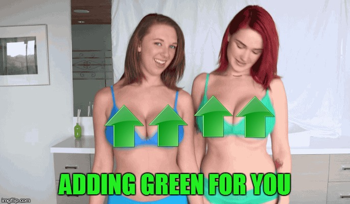 ADDING GREEN FOR YOU | made w/ Imgflip meme maker