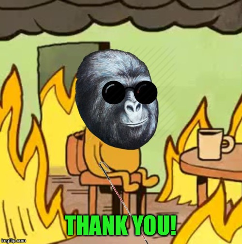 Jimmies On Fire | THANK YOU! | image tagged in jimmies on fire | made w/ Imgflip meme maker