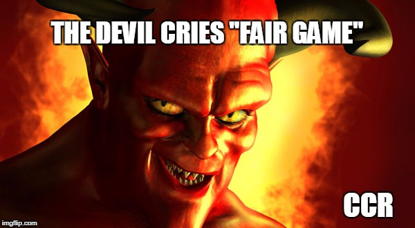 """... run through the jungle..."" 