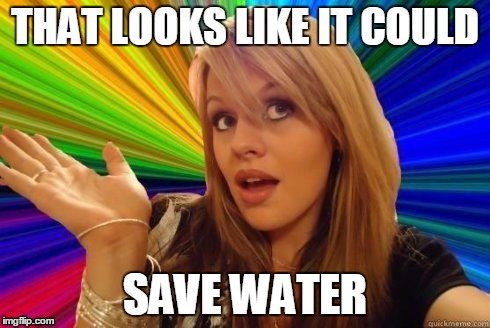 THAT LOOKS LIKE IT COULD SAVE WATER | made w/ Imgflip meme maker