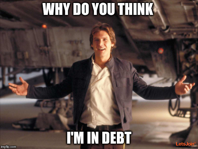WHY DO YOU THINK I'M IN DEBT | made w/ Imgflip meme maker