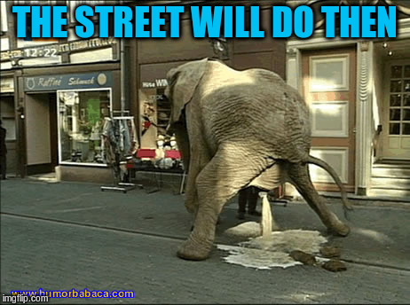 THE STREET WILL DO THEN | made w/ Imgflip meme maker