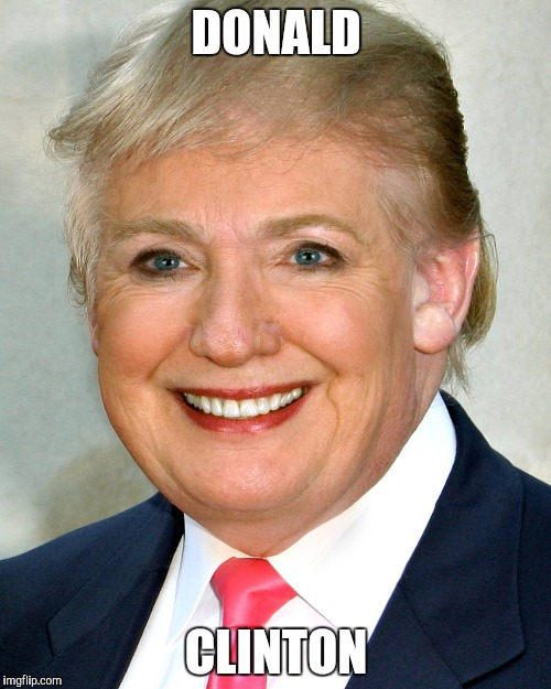DONALD CLINTON | made w/ Imgflip meme maker