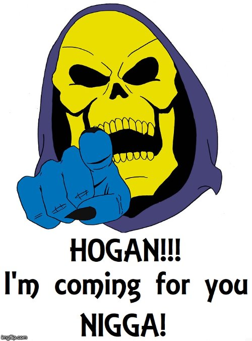 Skeletor Calling You Out | image tagged in booker t | made w/ Imgflip meme maker
