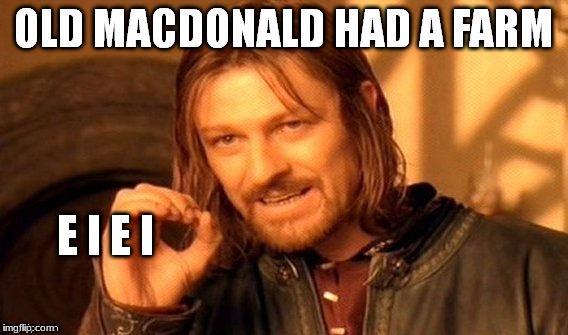 "One Does Not Simply ( ""Repost Week"" A GotHighMadeAMeme and Pipe_Picasso event)   