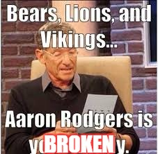 BROKEN | image tagged in bears,packers suck,lions,vikings,packers,nfl | made w/ Imgflip meme maker